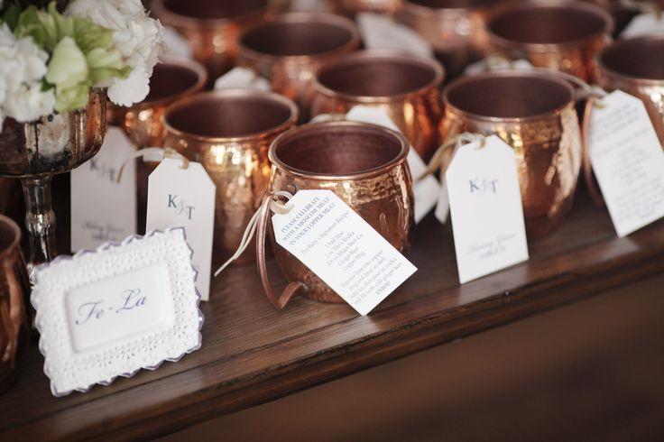 Moscow mule wedding