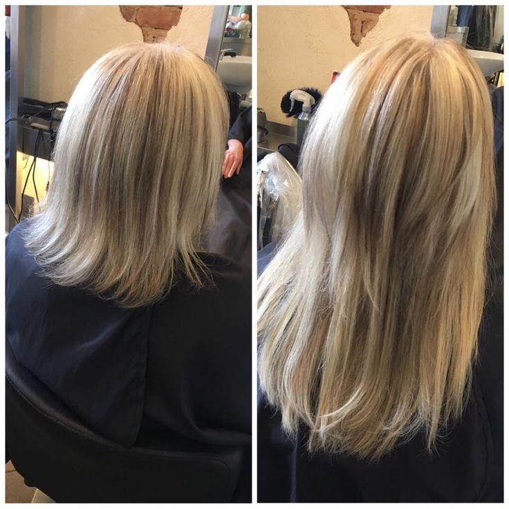 Haarverlängerung Vorher Nachher - #Haarverlängerung #Hairtalk blonde Haare  #hairextension #hair #extension ✂ Friseur Gute Schnitte Salon Hair Nickel  Marienburger Str. 6, 10405 Berlin Prenzlauer Berg, 030-4427454