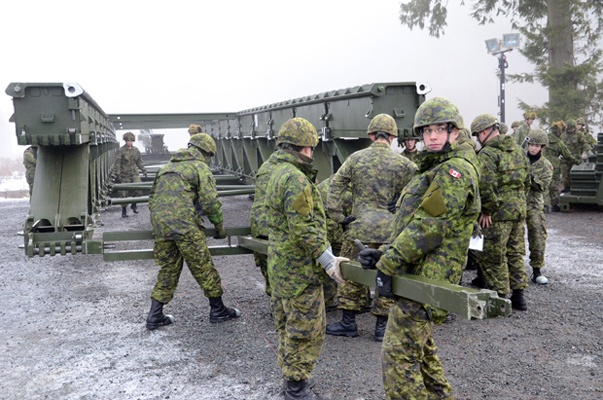 Hundreds of reservist sappers from across Western Canada and Ontario were in Chilliwack last weekend to take part in Exercise Paladin Response 2012.