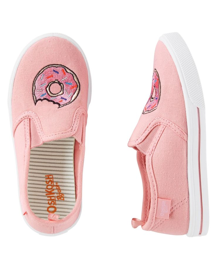 Toddler Girl OshKosh Donut Slip-On Shoes | OshKosh.com
