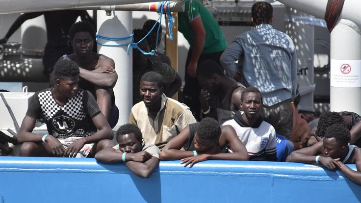 The UN calls for more support for Italy as tens of thousands of migrants arrive on its shores.