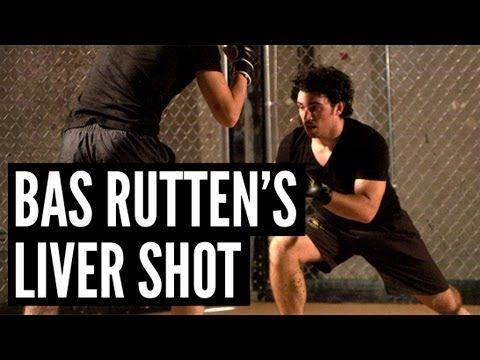 "Bas Rutten's Liver Shot - MMA Surge   Andrew ""Squid"" Montañez   mmasurge.com #mma"