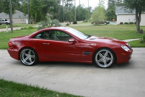 2006 Mercedes SL500, hard top convertible. not really my style, I had it only a few months.