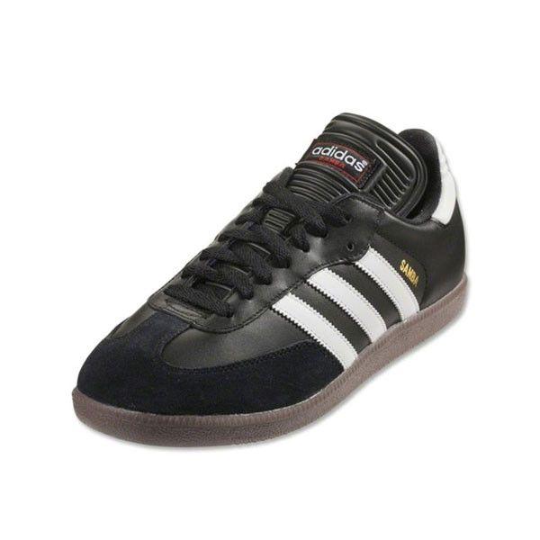 adidas Samba Classic Indoor Shoes (Black/White)