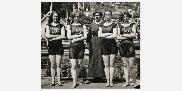 британская женская команда по плаванию на Олимпийских играх 1912 года