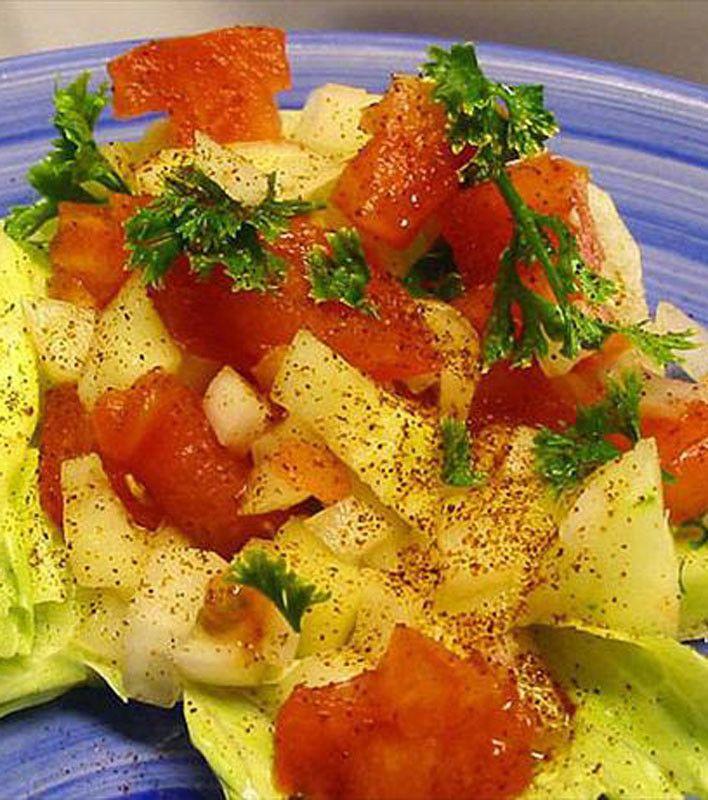 Simple Iranian Salad