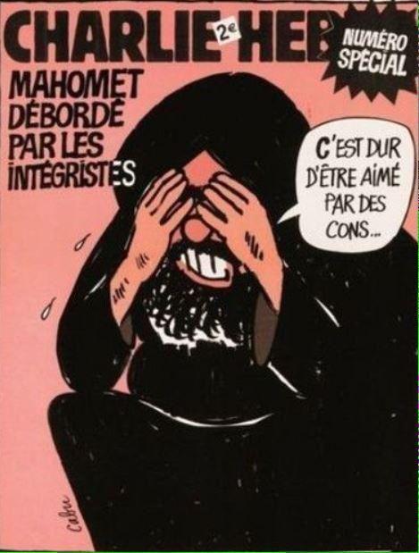 Charlie Hebdo - c'est dur d'être aimé par des cons...