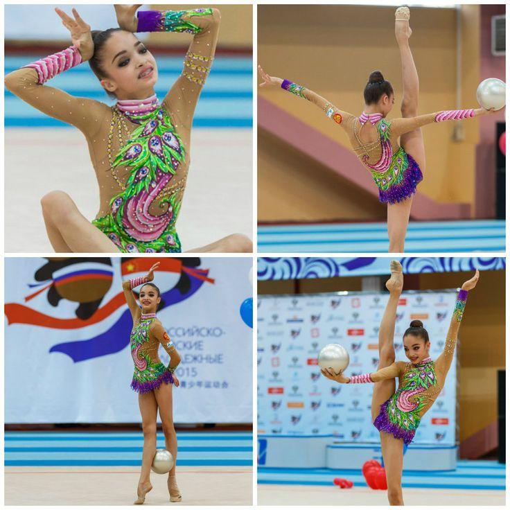 leo: Ekaterina Ayupova (Russia) junior, ball 2015