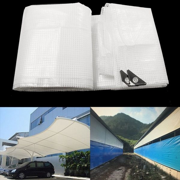 Waterproof Reinforced Multi-Purpose Tarpaulin Tarp For Car Truck Outdoor Camping