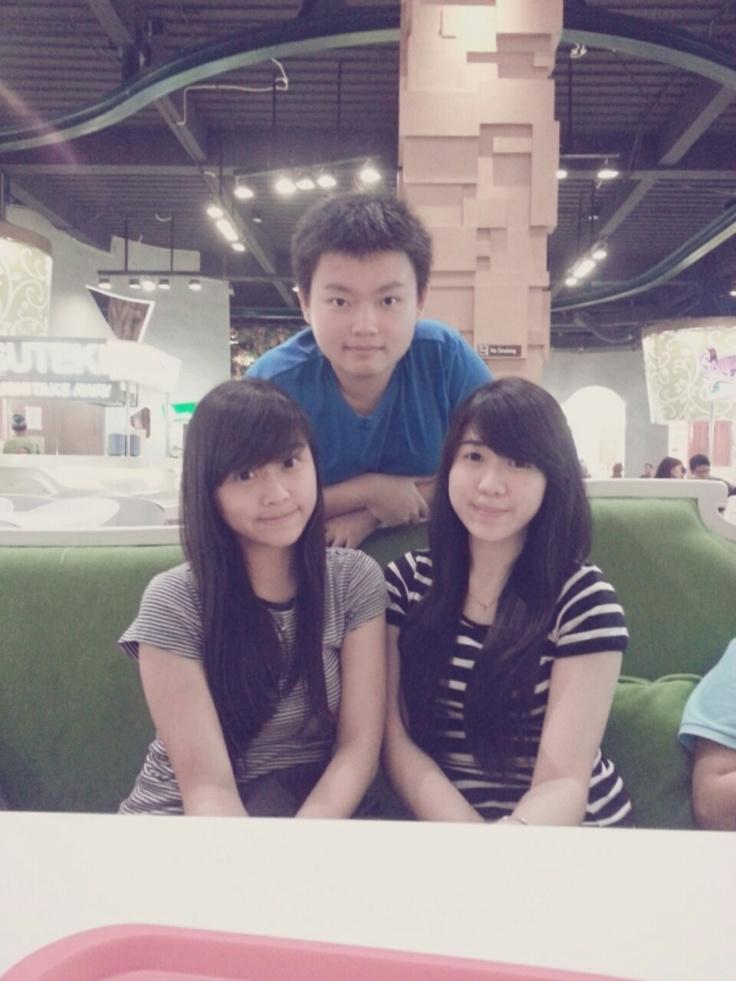 @Ciputra world with my friend