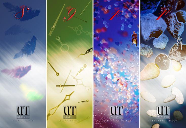 Covers calendars UT magazine, Francesco Del Zompo