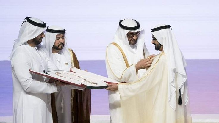 Sheikh Mohammed receives Order of 'Mother of the Nation'