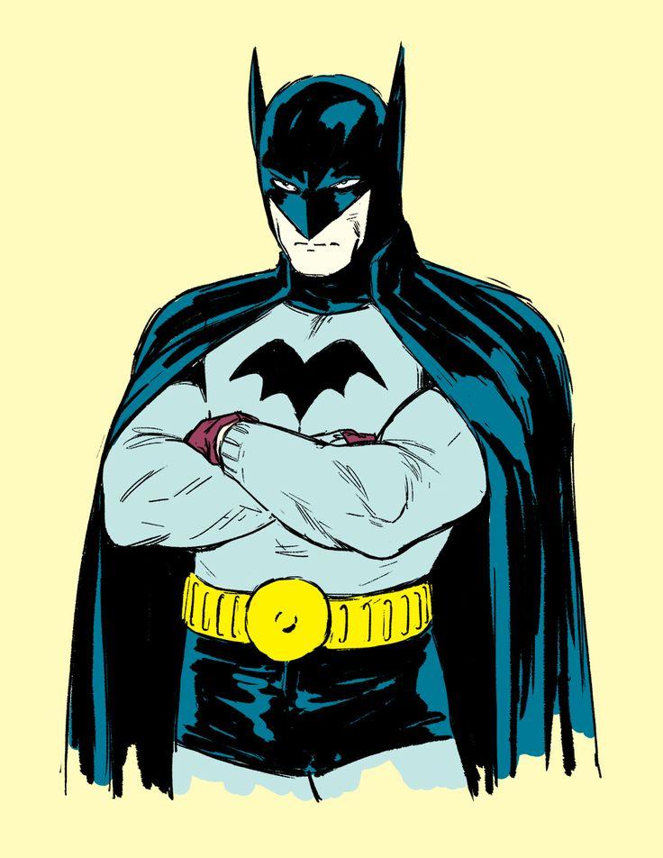 Golden Age Batman (from Detective Comics #27) by Kristafer ...