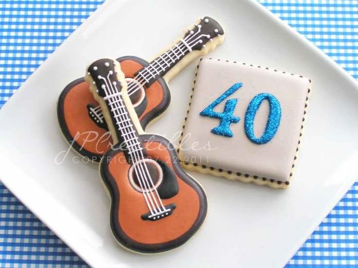 Guitars for the birthday boy