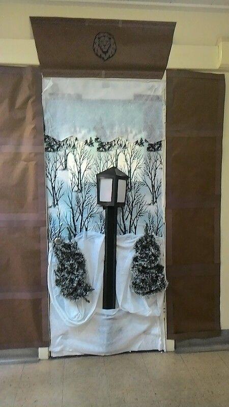 Chronicles Of Narnia Door Decorating Christmas Door