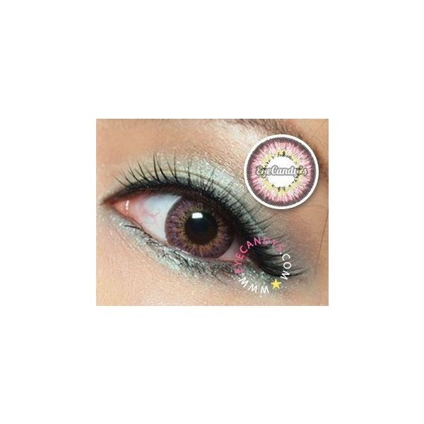 Pink - Colored Circle Contact Lenses | EyeCandy's ❤ liked on Polyvore featuring accessories, eyewear, sunglasses, matte sunglasses, pink glasses, circle sunglasses, circular sunglasses and lens sunglasses