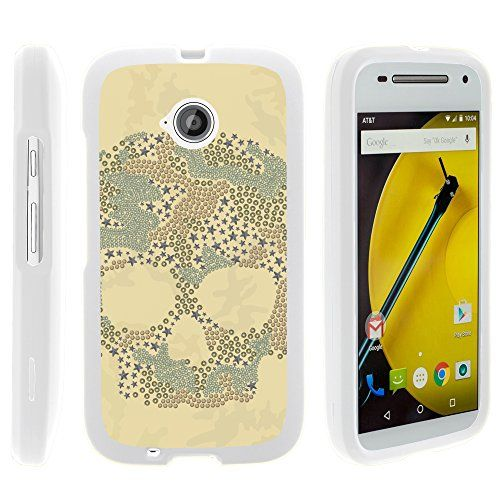 Buy Motorola Moto E (2nd Generation) Case, Perfect Fit Cell Phone Case Hard Cover with Cute Design Patterns for Motorola Moto E LTE 2nd Generation XT1511, XT1257 (Boost Mobile, Cricket, Sprint, Verizon, Virgin Mobile) from MINITURTLE | Includes Clear Screen P for 9.99 USD | Reusell