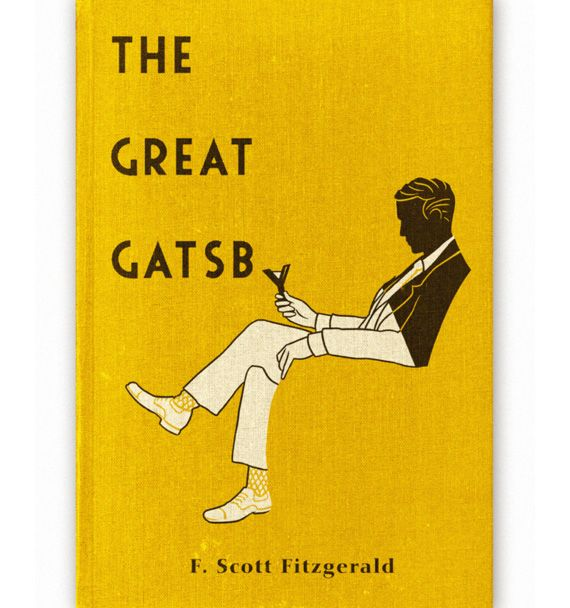 ***LOVE!!*** Book Cover// The Great Gatsby, by F. Scott Fitzgerald - Designer: Aled Lewis