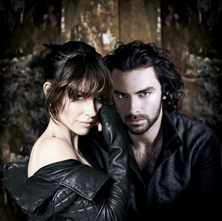 Aidan Turner & Evangeline Lilly - Kili & Tauriel (Photos by Sarah Dunn) OH NO I feel an AU vampire fanfic  plot  invading just by looking at this GAWD