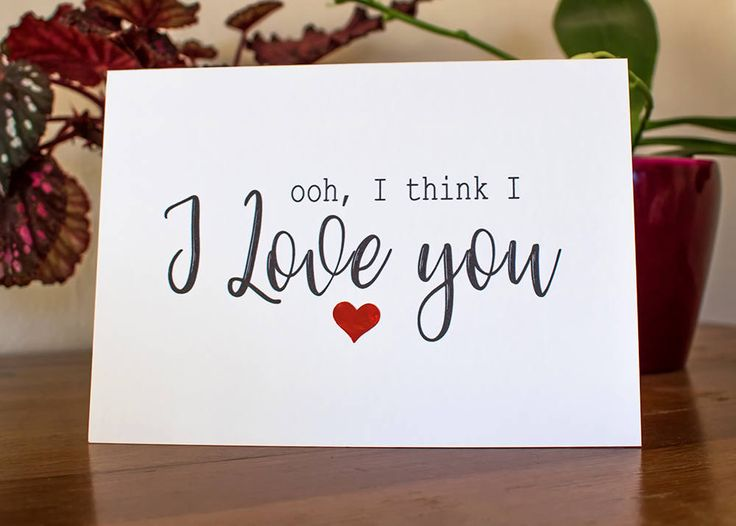 Funny Valentine Card, Valentines Day Card, I Love You Card, Funny Love You Card, Card to Girlfriend, Card to Boyfriend, Card for Wife,