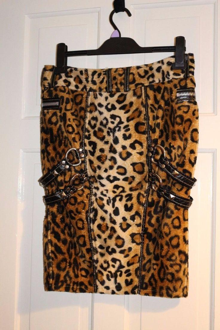 LIP SERVICE King's Leopard skirt #36-114