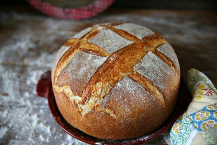 Самый простой домашний дрожжевой хлеб, а точнее рецепт очень удачного дрожжевого теста, которое потом вам наверняка пригодится и не один раз