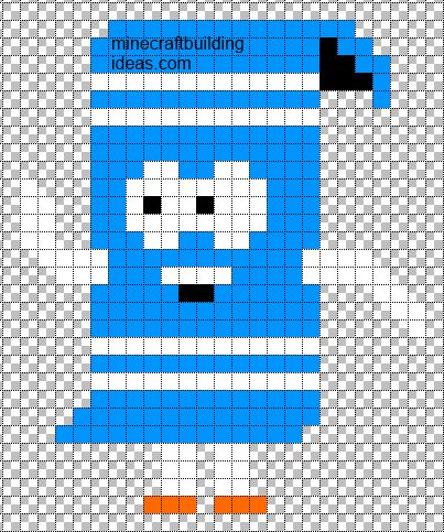 Best Minecraft Pixel Art Templates Images On   Hama
