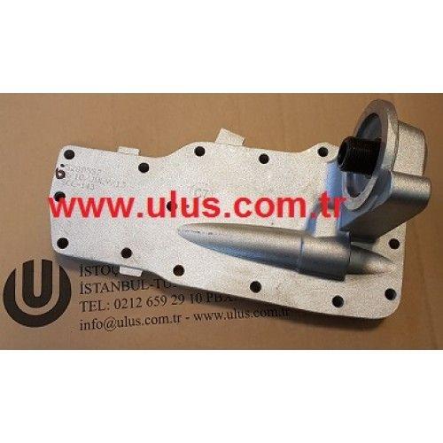 3965153 Yağ soğutucu kapağı QSB Cummins Motor