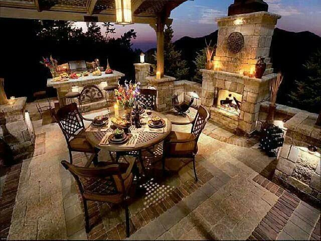 Landscape Ideas from Me: Tuscan style backyard landscaping ...