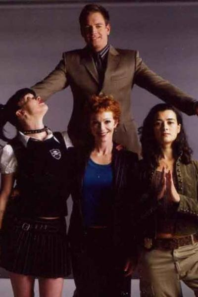 Michael Weatherly, Pauley Perrette, Lauren Holly, & Cote de Pablo