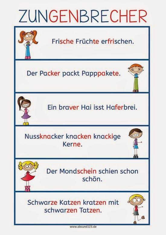 Eine kleine Deutschkiste: Zungenbrecher