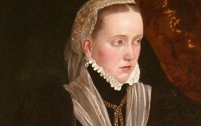 Polyxena z Pernštejnů, dcera královského kancléře Vratislava z Pernštejna a španělské šlechtičny Marie Manrique de Lara,