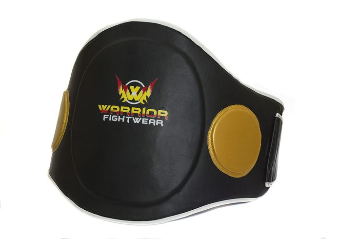 Muay Thai Boxing Belly Pad is great for Muay Thai and Kick Boxing work , improving balance, precision and performance of the fighter. This Warrior Fight Wear Thai Belly Pad is made from strong synthetic material and lined with multiple layers of material to give it extra strength.