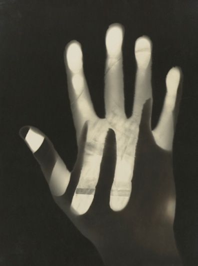 """""""Fotogramm"""" by László Moholy-Nagy, 1925"""
