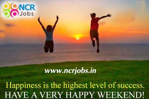Forget the troubles that passed away and remember the #blessings that come each day. Have a #Nice_Weekend!   www.ncrjobs.in