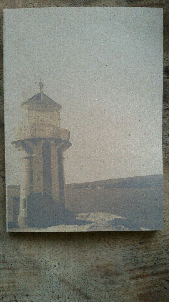 Hornby Lighthouse, Sydney Australia. I've taken that picture when I was in Sydney. I decided to turn that picture into a cover of this unlined journal.