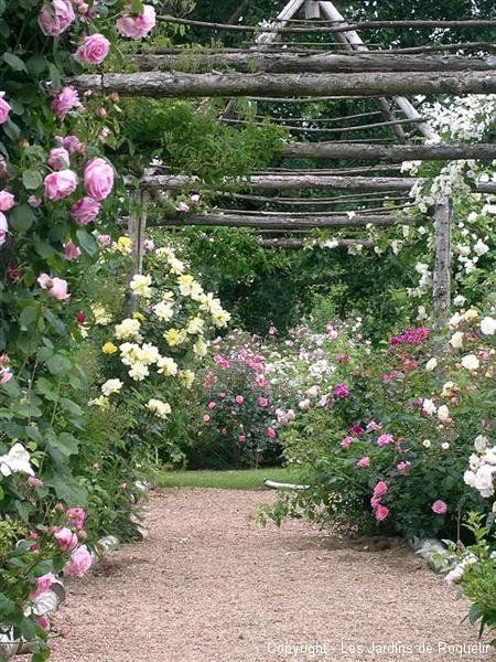 ♥ Inspirations, Idées & Suggestions, JesuisauJardin.fr, Atelier de paysage Paris, Stéphane Vimond Créateur de jardins #garden #jardin @Jardins de Roquelin