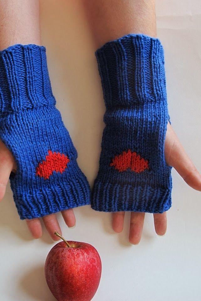 Moois van ' M(i)e': gebreide wanten zonder vingers : patroon/pattern