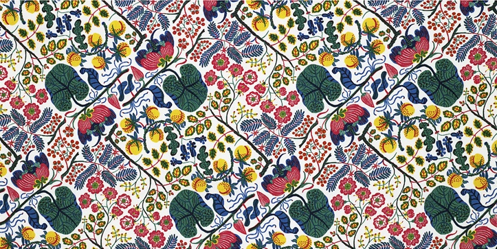 Ceylon pattern by Josef Frank