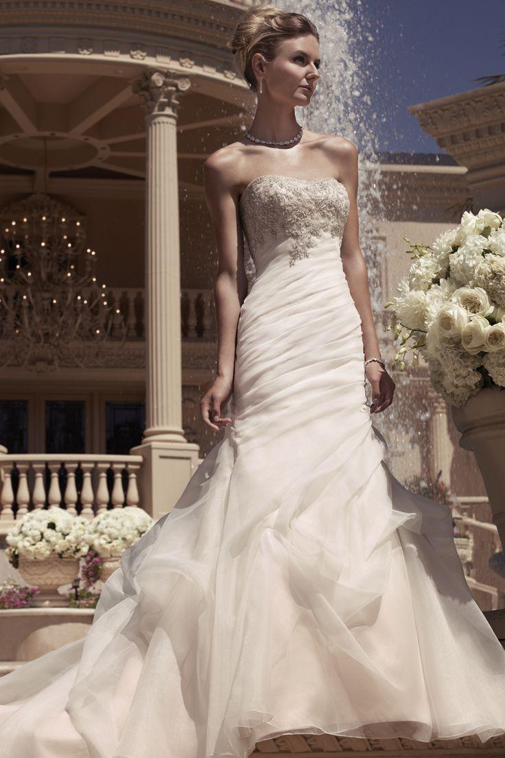 Bridal water lily 2226 wedding dresses photos brides com - Casablanca Bridal Style 2107 Countrybridals Com Casablanca Wedding Dressestrumpet