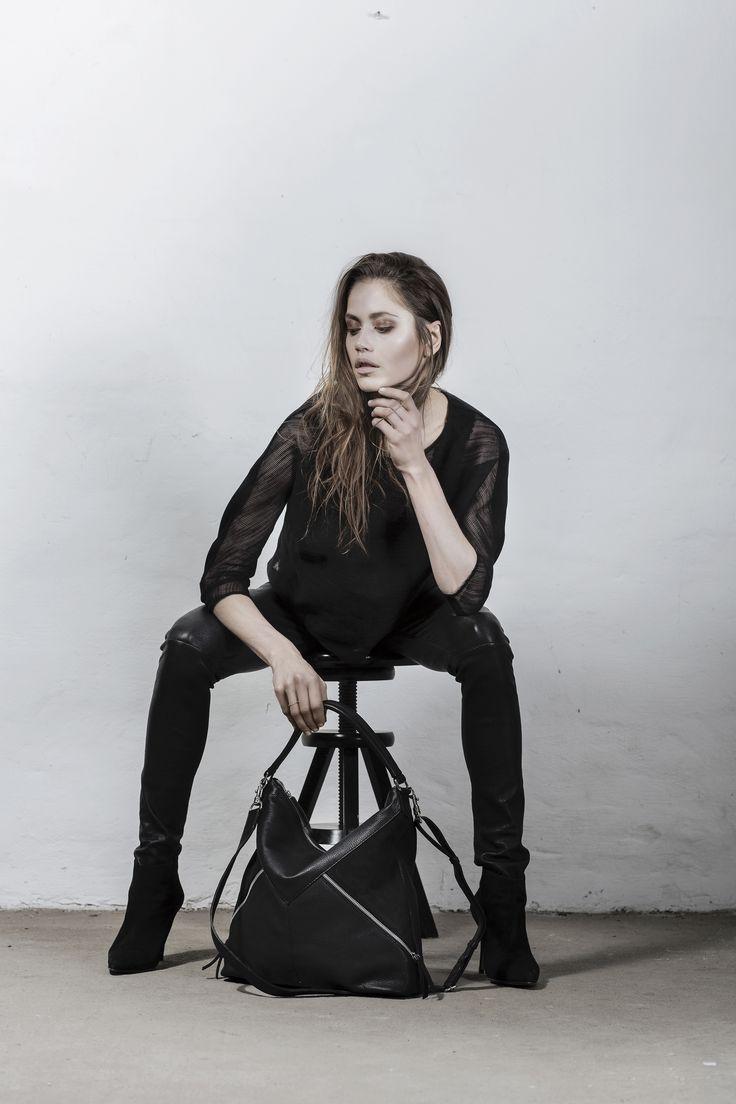 Olivia Bag nubuck leather // Markberg