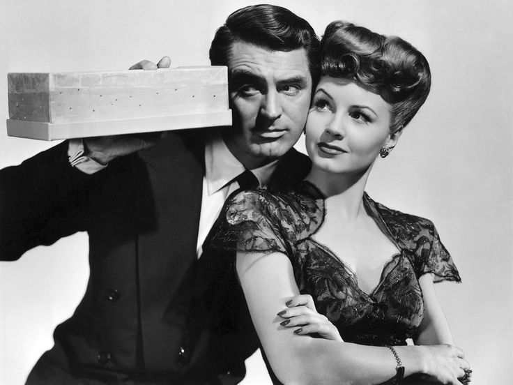 Cary Grant And Janet Blair (Once Upon A Time)