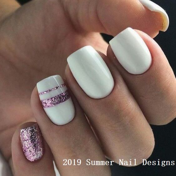 33 Cute Summer Nail Design Ideas 2019 #naildesigns