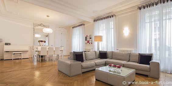 location appartement 3 chambres et paris rue pierre demours 17 me arrondissement location. Black Bedroom Furniture Sets. Home Design Ideas