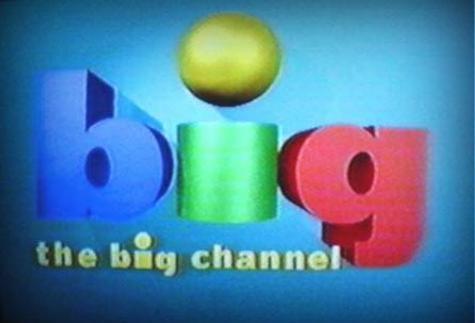 """Un canal de niños que se llamaba """"The big channel"""". Que raro no?"""