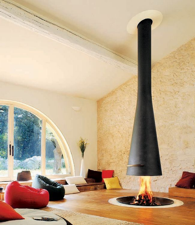 Best 25 Hanging Fireplace Ideas On Pinterest Suspended Fireplace Floating Fireplace And