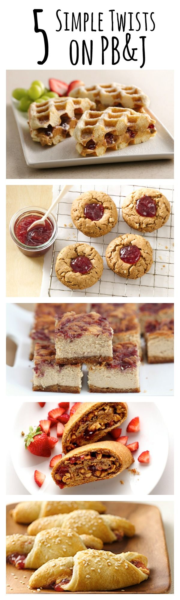 5 Simple Twists on PB & J to take the classic combo to the next level!