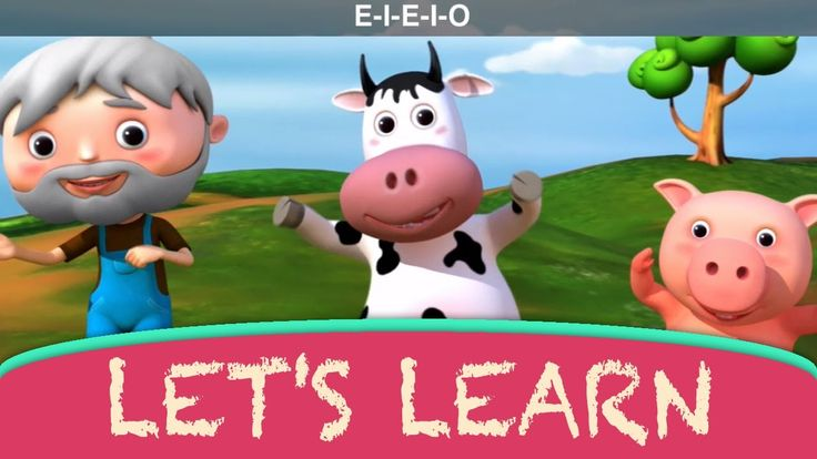 """Let's Learn """"Old MacDonald Had A Farm""""! With Little Baby Bum"""