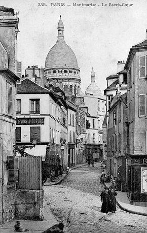 Rue Norvins, Montmartre, Paris 18ème                                                                                                                                                      More