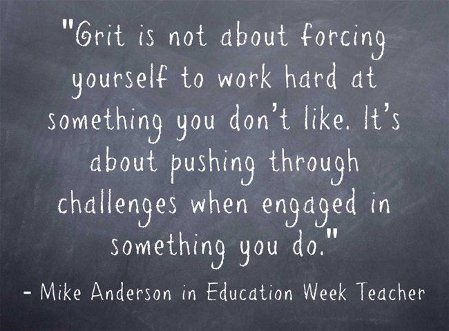 ASCD author Mike Anderson explains the importance of grit on Education Week Teacher